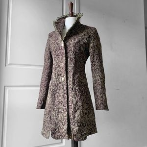 CKM Old-Fashioned Victorian Inspired Lace Coat